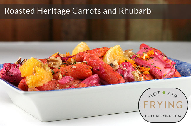 Roasted-Heritage-Carrots-and-Rhubarb