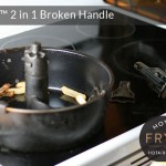 Actifry pan handles are prone to breakage