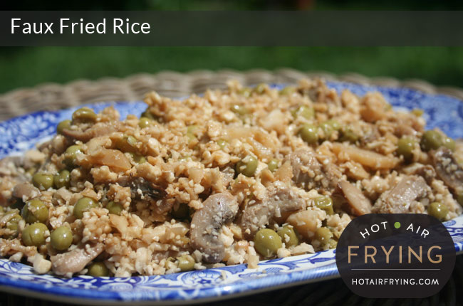 Cauliflower Faux Fried Rice
