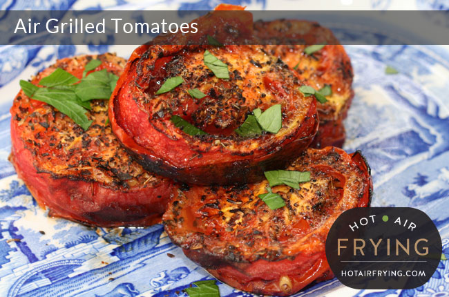air grilled-tomatoes