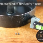 Replacement handles for Actifry pans